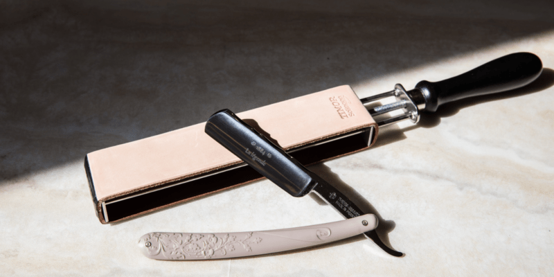 right leather strop for straight razor