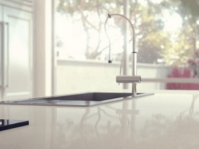 remove stains from quartz countertops