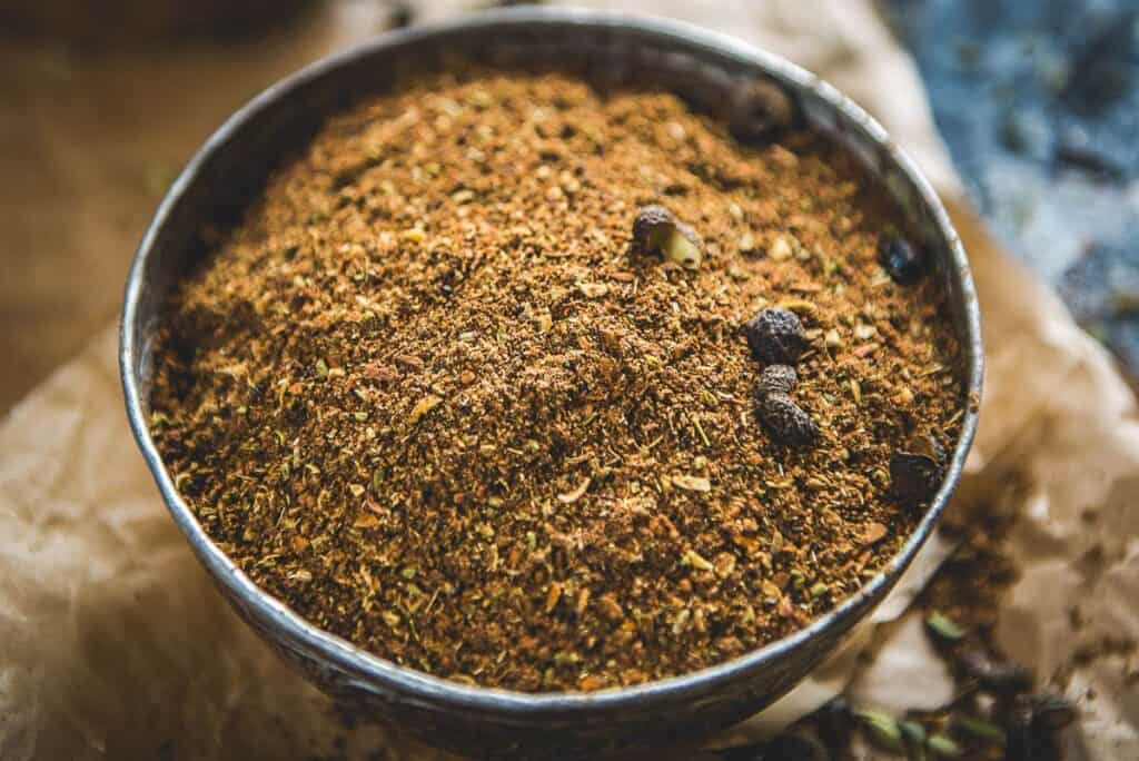 spices for salmon