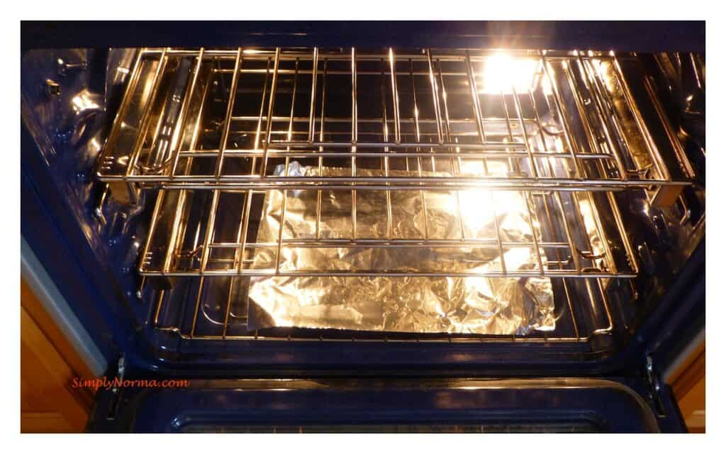 How to Clean Grease Off Oven Racks with Aluminum Foil