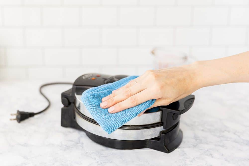 Clean a Waffle Maker