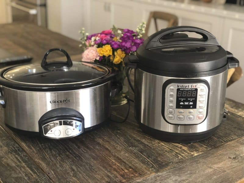 instant pot as a slow cooker