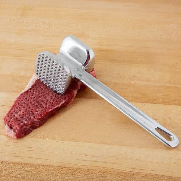 clean a meat tenderizer